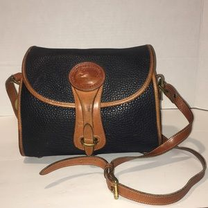 Dooney and Bourke black brown crossbody